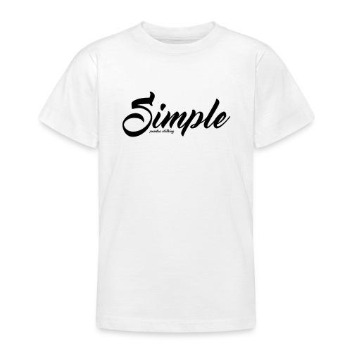 Simple: Clothing Design - Teenage T-Shirt