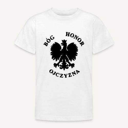 Bóg, Honor, Ojczyzna - Koszulka młodzieżowa