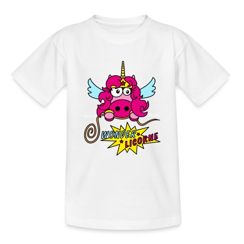 Licorne WT - T-shirt Ado