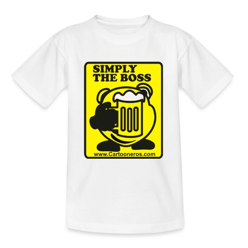 Simply the Boss - Teenage T-Shirt