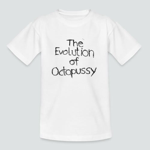 Evoctopussy png - Teenager T-Shirt