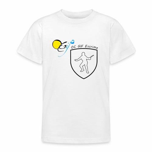 OC Gif Escrime - T-shirt Ado