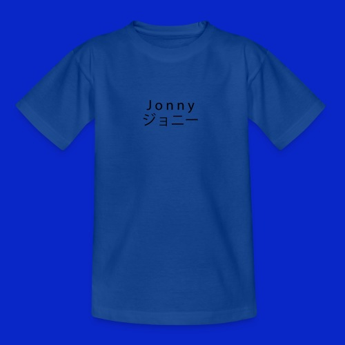 J o n n y (black) - Teenage T-Shirt