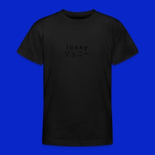 J o n n y (black) - Teenage T-Shirt
