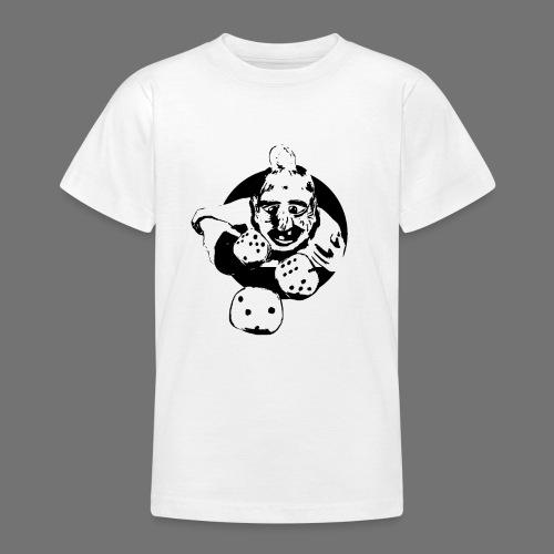 Professional Gambler (1c musta) - Nuorten t-paita