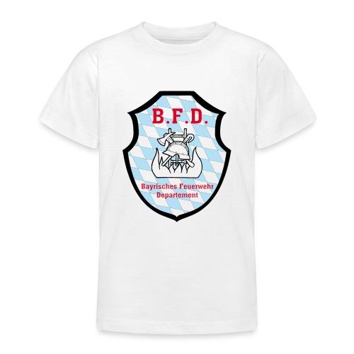 Inoffizielles bayrisches Feuerwehrabzeichen - Teenager T-Shirt
