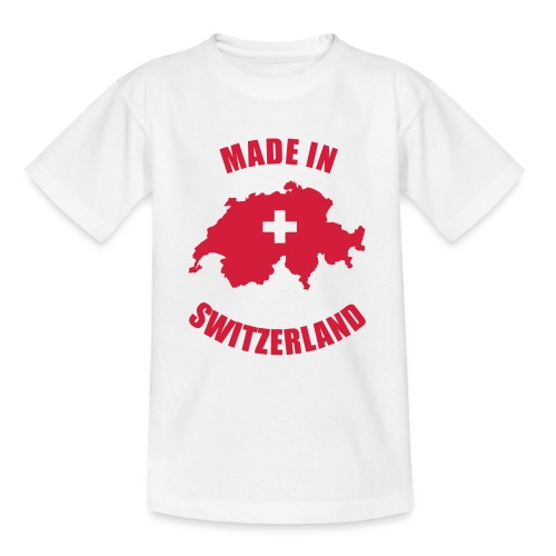 Made in Switzerland - Teenager T-Shirt