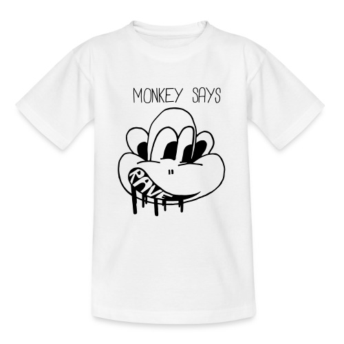 Monkey Says Rave - Teenage T-Shirt