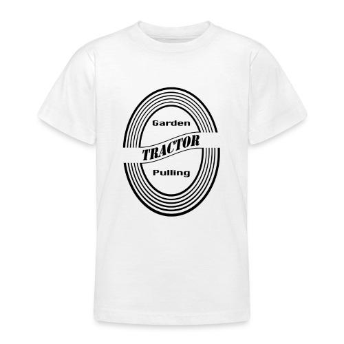 børn Garden tractor pulling - Teenager-T-shirt