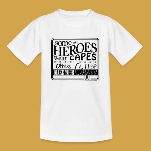 coffeeprint8F - Teenager-T-shirt