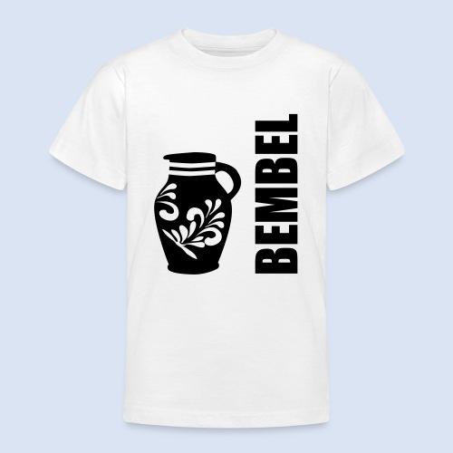 Frankfurter Bembel - Hessen - Teenager T-Shirt