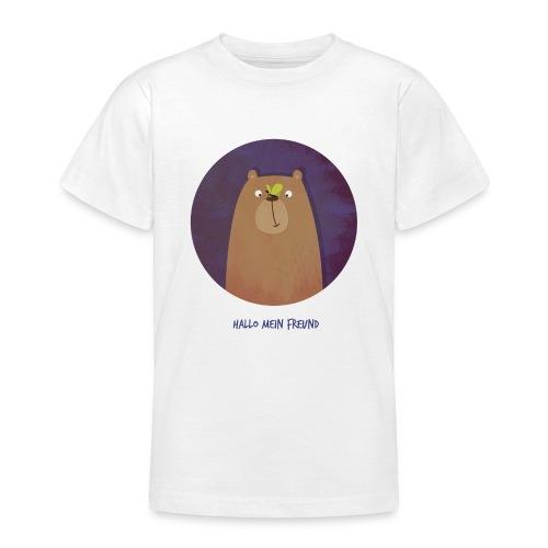 Hallo mein Freund Longsleeve - Teenager T-Shirt