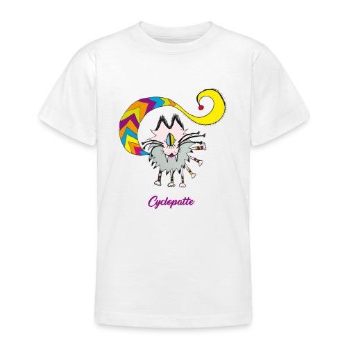 Cyclopatte - T-shirt Ado