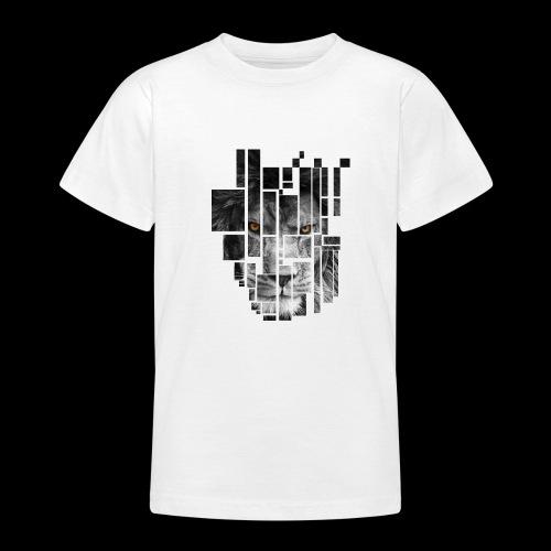 Pixel Lion Tattoo Inspire - Teenage T-Shirt