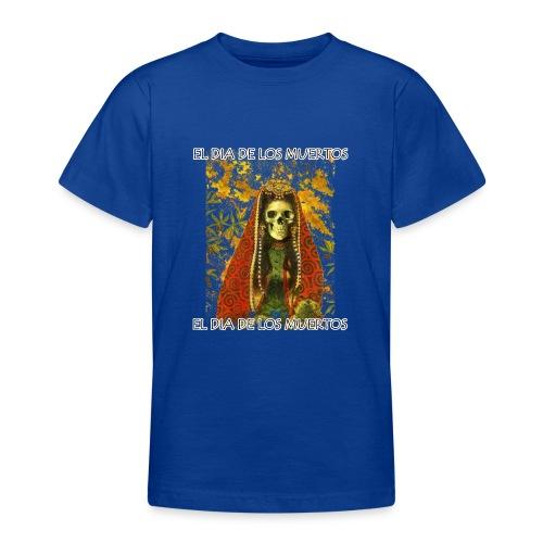 El Dia De Los Muertos Skeleton Design - Teenage T-Shirt