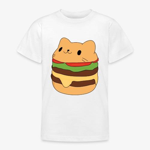 cat burger - Teenage T-Shirt
