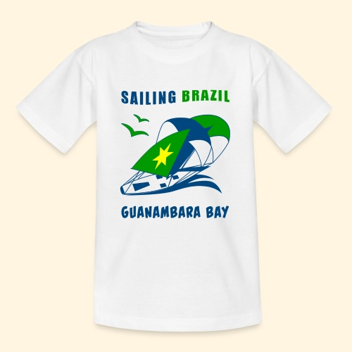 Sailing Brazil - Teenage T-Shirt