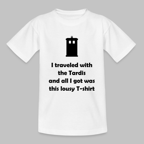 Lousy shirt - Teenage T-Shirt