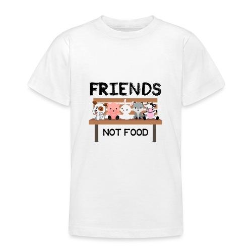 Friends Not Food - Teenager T-Shirt