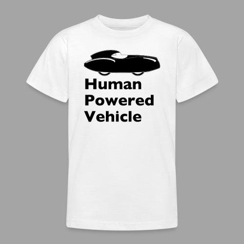 Quattrovelo Human Powered Vehicle black - Nuorten t-paita