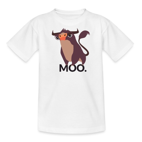 moo - Teenager T-Shirt