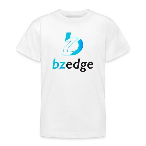 BZEdge Cutting Edge Crypto - Teenage T-Shirt