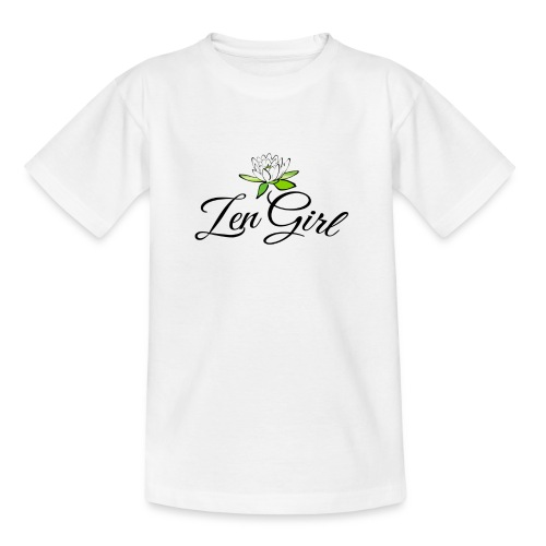 Zen Girl -Lotus Blomma - Prima Vera Design - T-shirt tonåring