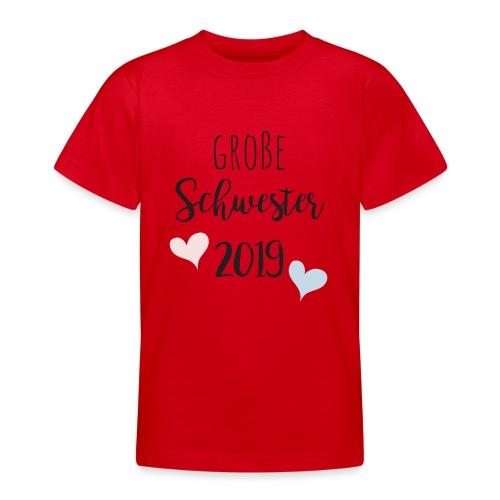 Große Schwester 2019 - Teenager T-Shirt