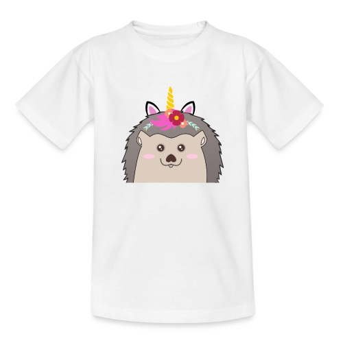 Einhorn-Hed - Teenager T-Shirt