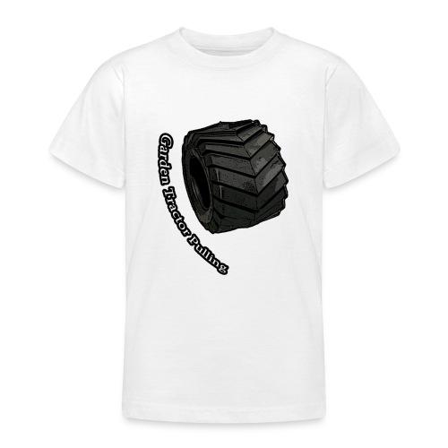 Børne Tractor pulling - Teenager-T-shirt