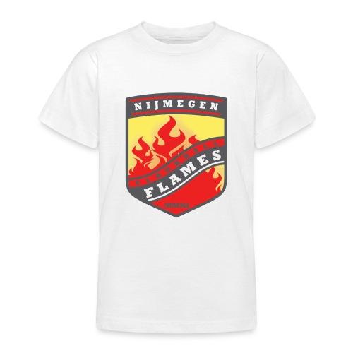 snapback pet rood/zwart combi - Teenager T-shirt