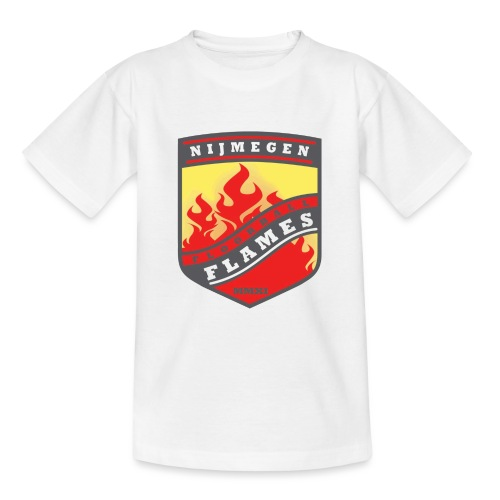 t-shirt kid-size zwart - Teenager T-shirt