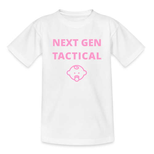Tactical Baby Girl - Teenager T-shirt