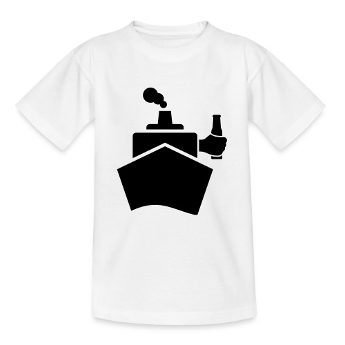 King of the boat - Teenager T-Shirt