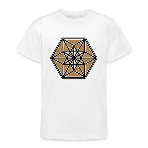 Kuboktaeder, Buckminster Fuller, Heilige Geometrie - Teenager T-Shirt