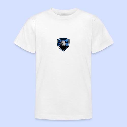 HypeCw logo (Silver) - Teenage T-Shirt