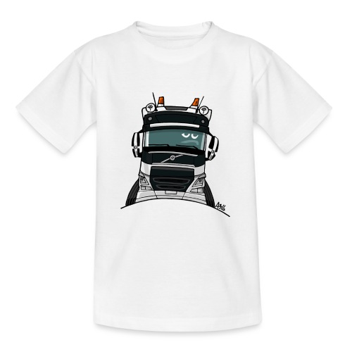 0488 V truck wit - Teenager T-shirt