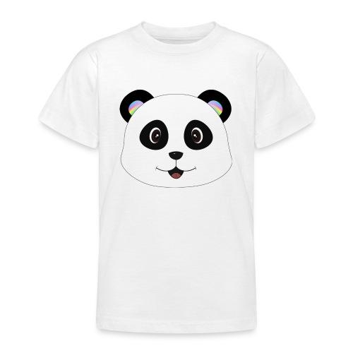 panda rainbow - Camiseta adolescente