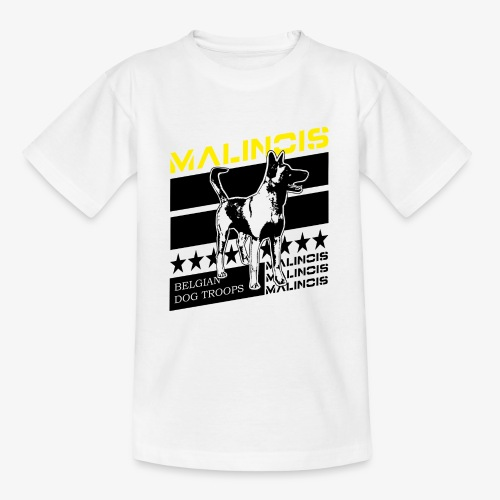 Malinois - Belgian Dog Troops - Teenager T-Shirt