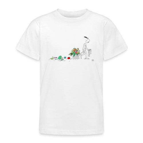 frukt og grønt handleveske - T-skjorte for tenåringer