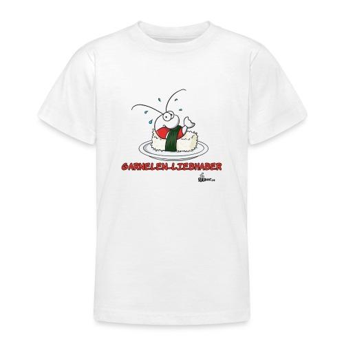 garnelenliebhaber - Teenager T-Shirt
