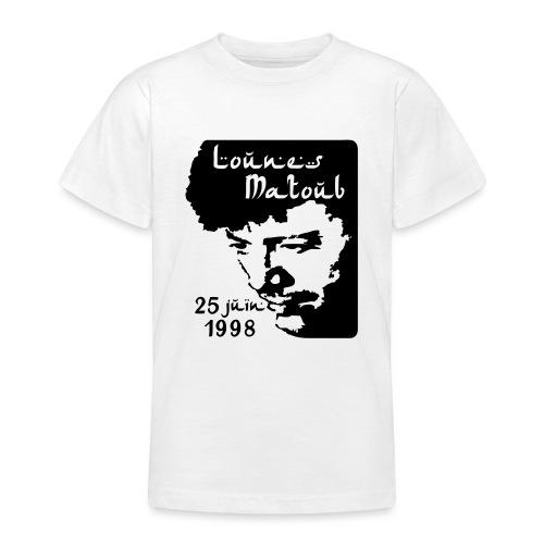 Motif hommage à Lounes Matoub - T-shirt Ado
