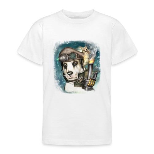 Steampunk Dog #2b - Maglietta per ragazzi