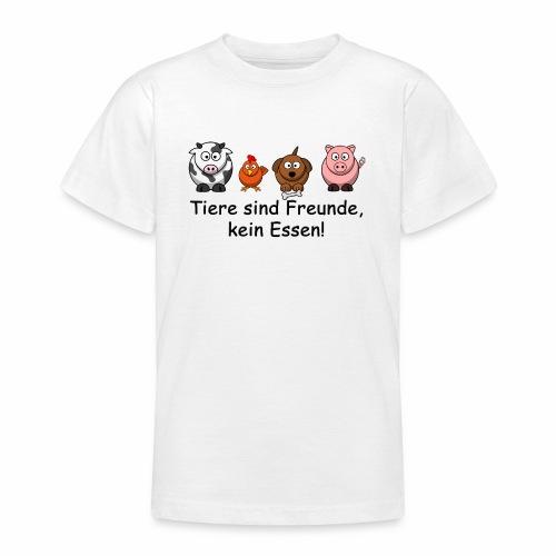 Tiere-sind-Freunde - Teenager T-Shirt