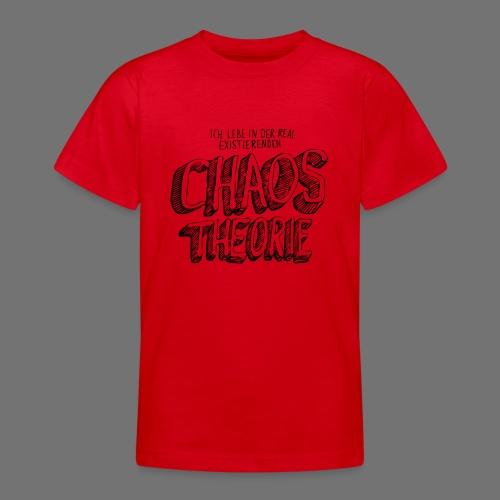 Chaos Theory (musta) - Nuorten t-paita