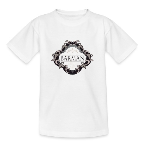 BARMAN CLASSIQUE by Florian VIRIOT - T-shirt Ado