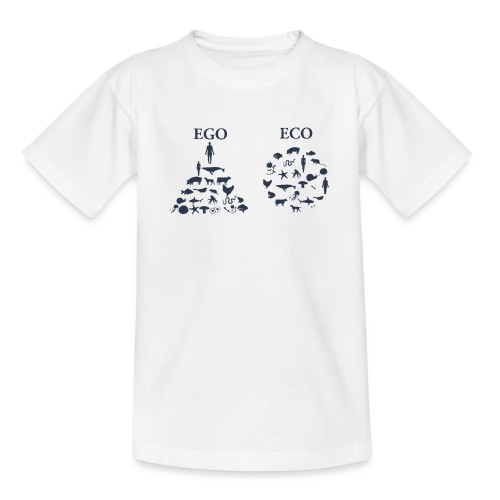 Ego VS Eco - Maglietta per ragazzi