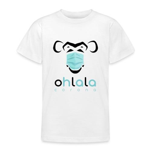 OHLALA CORONA WHITE - T-shirt Ado