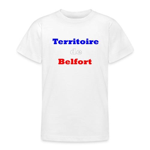 Territoire Belfort Tricolore - T-shirt Ado