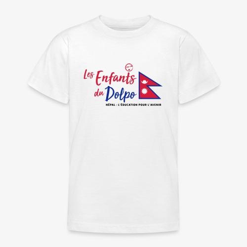 Les Enfants du Doplo - Grand Logo Centré - T-shirt Ado